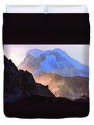 Frozen - Torres Del Paine National Park Duvet Cover