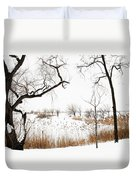 Frozen Marshland IIi Duvet Cover