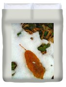 Frozen Nature - Digital Painting Effect Duvet Cover