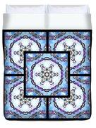 Frozen Orbweaver Page Duvet Cover