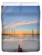 Frozen Sunrise V2 Duvet Cover