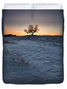 Frozen Tree Of Wisdom Duvet Cover