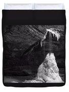 Frozen Waterfall Duvet Cover