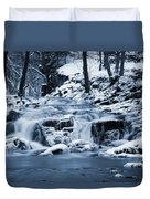 Frozen Waterfall Duvet Cover