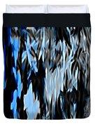 Frozen Zebra Duvet Cover