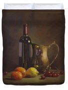 Fruit And Wine Duvet Cover