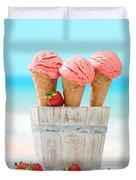 Fruit Ice Cream Duvet Cover