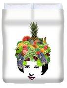 Fruit Lady Duvet Cover