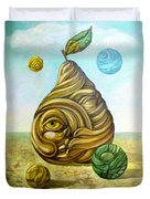 Fruit Of Knowledge Duvet Cover