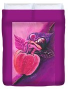 Fruit Of The Garden Of Eden Duvet Cover