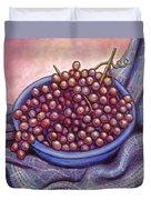 Fruit Of The Vine Duvet Cover