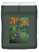 Fruit Of The Vine Duvet Cover
