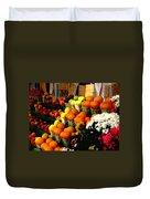 Fruit Stand Duvet Cover