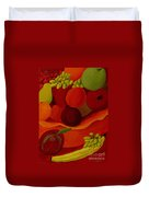 Fruit-still Life Duvet Cover