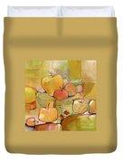 Fruit Still Life Duvet Cover