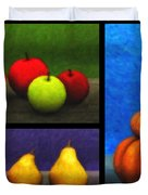 Fruit Trilogy Duvet Cover