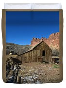 Fruita Horse Stable Capitol Reef National Park Utah Duvet Cover