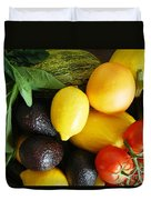 Fruits  And Vegetables  Duvet Cover