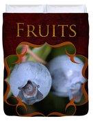 Fruits Gallery Duvet Cover