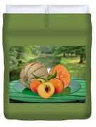 Fruits-garden Duvet Cover