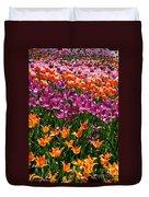 Fruity Tulips Duvet Cover