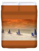 Ft. Myers Beach Duvet Cover