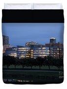 Ft. Worth Texas Skyline Duvet Cover