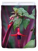 Fuchsia Delight Duvet Cover