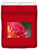 Fuchsia Flames Duvet Cover