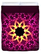 Fuchsia Flowers Duvet Cover