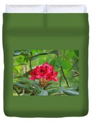 Fuchsia Rhododendron Moore State Park Duvet Cover
