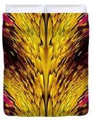 Fuchsia Sensation Abstract Duvet Cover