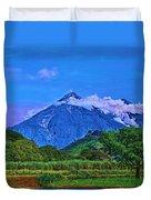 Fuego Volcano Guatamala Duvet Cover