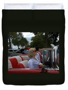Fuel Injection Cadillac Duvet Cover