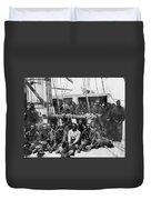 Fugitive Slaves, 1862 Duvet Cover
