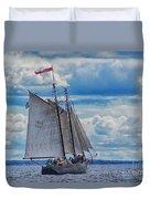 Full Boat Duvet Cover