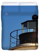 Full Moon At Piney Point Duvet Cover