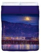 Full Moon Rising #2 Duvet Cover