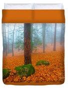 Full Of Autumn Duvet Cover