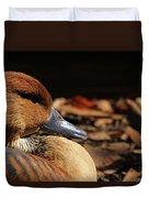Fulvous Whistling Duck Duvet Cover