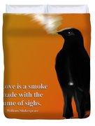 Fume Of Sighs - Williams Shakespeare Duvet Cover