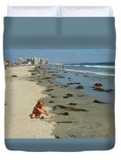 Fun At The Beach  Duvet Cover