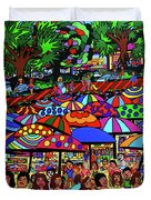 Fun Beach Duvet Cover