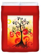 Fun Tree Of Life Impression Iv Duvet Cover