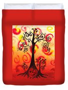 Fun Tree Of Life Impression Vi Duvet Cover