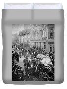 Funeral Of Queen Victoria Duvet Cover