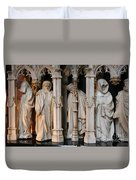 Funeral Procession Of The Friar - Palace Dijon Duvet Cover