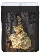 Fungi On Oak Duvet Cover