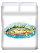 Funky Trout Duvet Cover