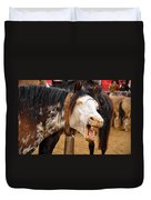 Funny Looking Horse Duvet Cover